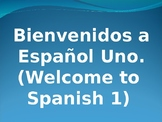 All About Spanish 1 & About Teacher PPT (can be used for other languages)