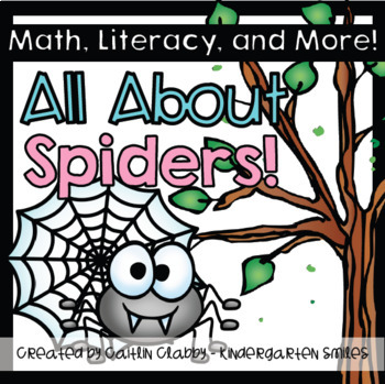 Spiders: All About Spiders Unit