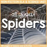 Spider Science & Non-Fiction ELA Unit