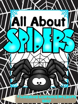All About Spiders Mega Bundle  {Ladybug Learning Projects}