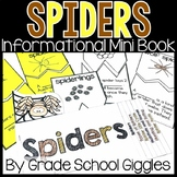 All About Spiders Mini Book