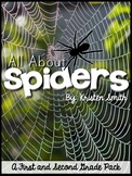 All About Spiders - a spider unit for first and second grade students