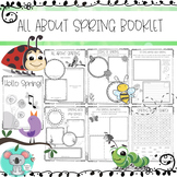 All About Spring Booklet - Spring Worksheets And Activities
