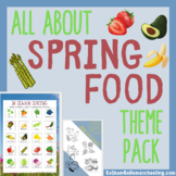 All About Spring Food Theme Pack