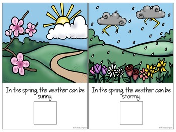 All About Spring: Interactive Book