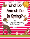 What Do Animals Do In Spring? (Distance Learning)