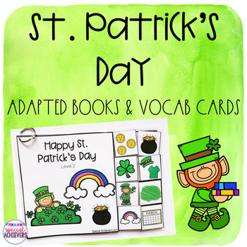 All About St. Patrick's Day Adapted Book and Activities