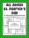 All About St. Patrick's Day Emergent Reader