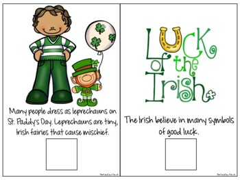 All About St. Patrick's Day: Interactive Book