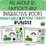 All About St. Patrick's Day Interactive Books BUNDLE | Pri