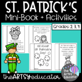 All About St. Patrick's Day Mini Book and Graphic Organizer!