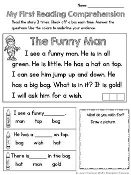 St. Patrick's Day - Print and Go - Math & Literacy - No Prep