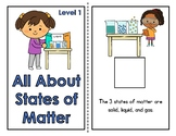 All About States of Matter Adapted Book (Level 2)