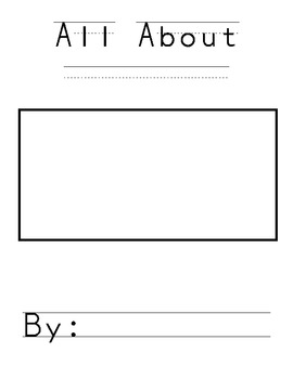 All About Story Template