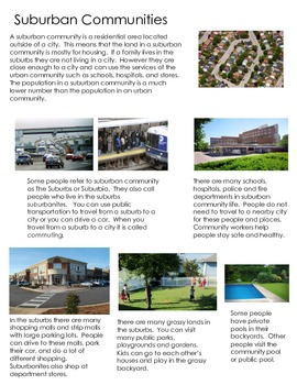 All About Suburban Communities