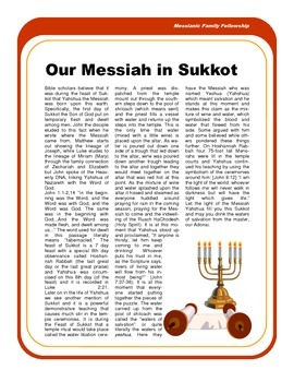 All About Sukkot: The Feast of Tabernacles