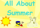 All About Summer (An Interactive SmartBoard Activity that