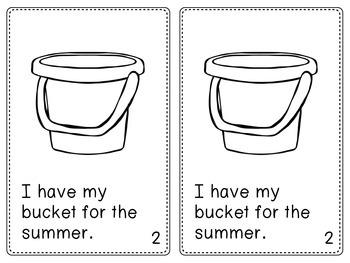All About Summer (Emergent Reader Text)