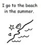 All About Summer Printable Book (Autism, Speech)