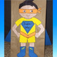 """All About """"Super Me""""  Back to School Lunch Bag Craftivity"""
