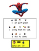 """All About Superheros: A Flip Book """"Guess Who"""" book (Autism"""