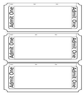 All About TImelines Exit Ticket