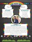 All About Teacher Rainbows *EDITABLE*