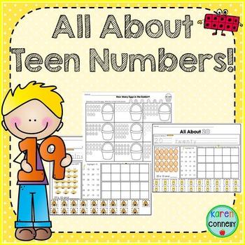 Teen Number Printables