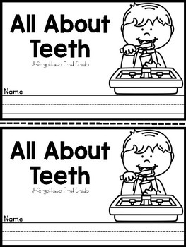 All About Teeth {Mini-Unit}