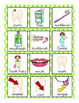 All About Teeth Vocabulary Cards