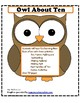 Owl About Ten--Addition/Subtraction Great for Intervention!