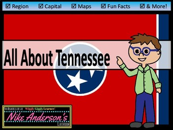 All About Tennessee | US States | Activities & Worksheets