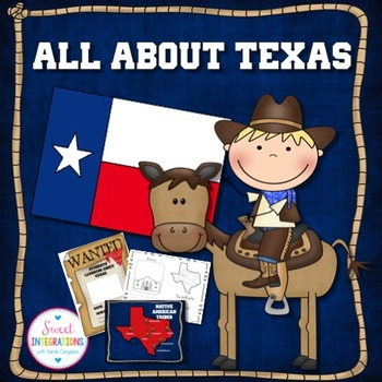 TEXAS STATE Editable Slideshow With Facts and Symbols Activities