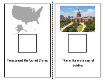 All About Texas State Adapted Book (2 Levels)| Texas Symbols