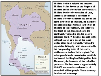 All About Thailand Culture, Country and Landscape