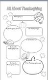 All About Thanksgiving: A Fill-in Poster