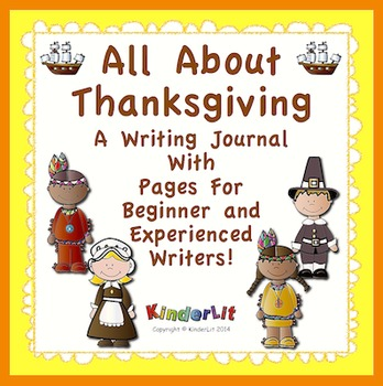 All About Thanksgiving - A Writing Journal
