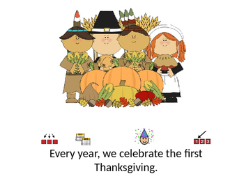 All About Thanksgiving Adapted Book