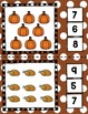 All About Thanksgiving Math Centers for Preschool, Pre-K,