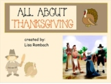 All About Thanksgiving SmartBoard Lesson for beginning learners