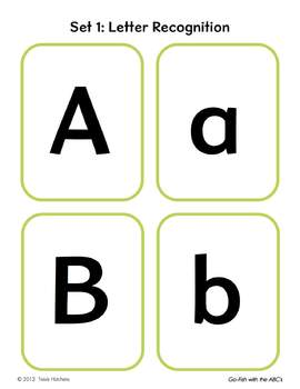 "All About The Alphabet: ""Go-Fish"" With The ABCs"