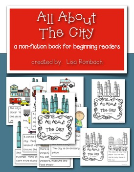 All About The City a non fiction book for beginning readers