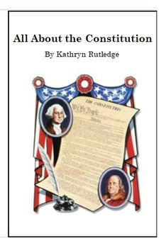 All About The Constitution decodable book