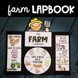 All About The Farm Lapbook