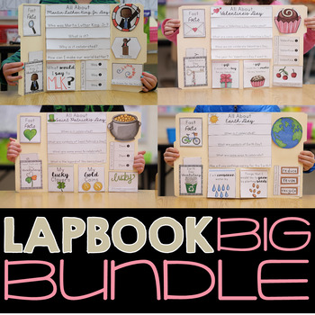All About The Holidays Lapbook Bundle {January - May}