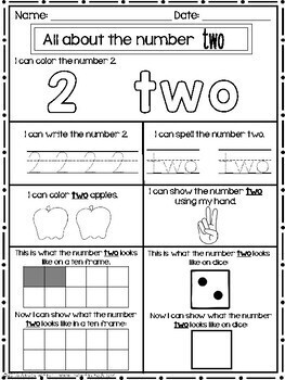 Number Knowledge and Practice
