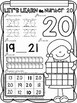 All About The Number Twenty ~ No Prep Math Printables for