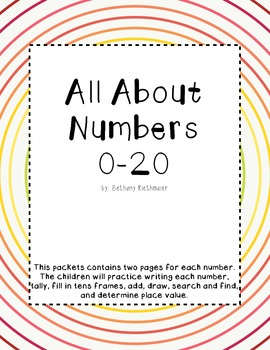 All About The Numbers 0-20