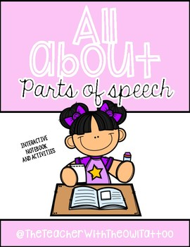 All About The Parts Of Speech