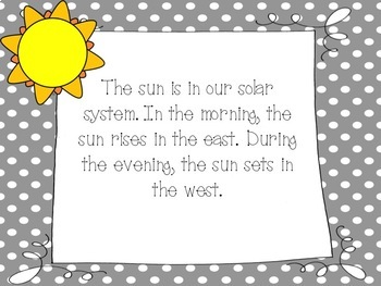 All About The Sun: A Printable Mini Book